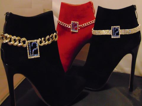 BLUE FRIDAY BLING DIAMONDCUT BOOTCHAIN