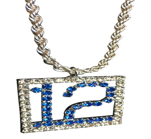 BLUE FRIDAY BLING NECKLACE