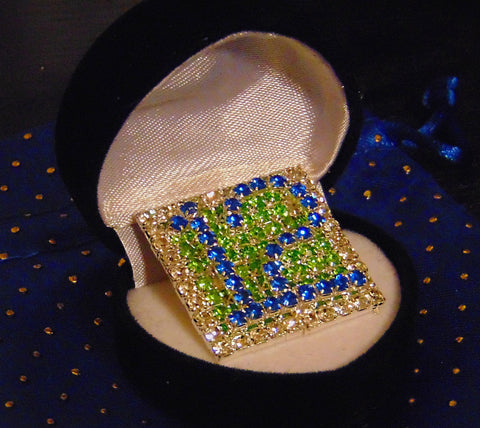 BLUE FRIDAY COLLAR / HAT / JACKET  PIN