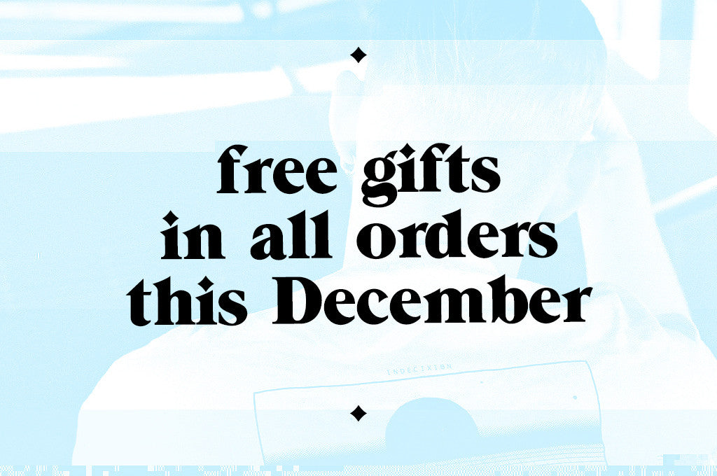 Free Gifts With All Orders This December