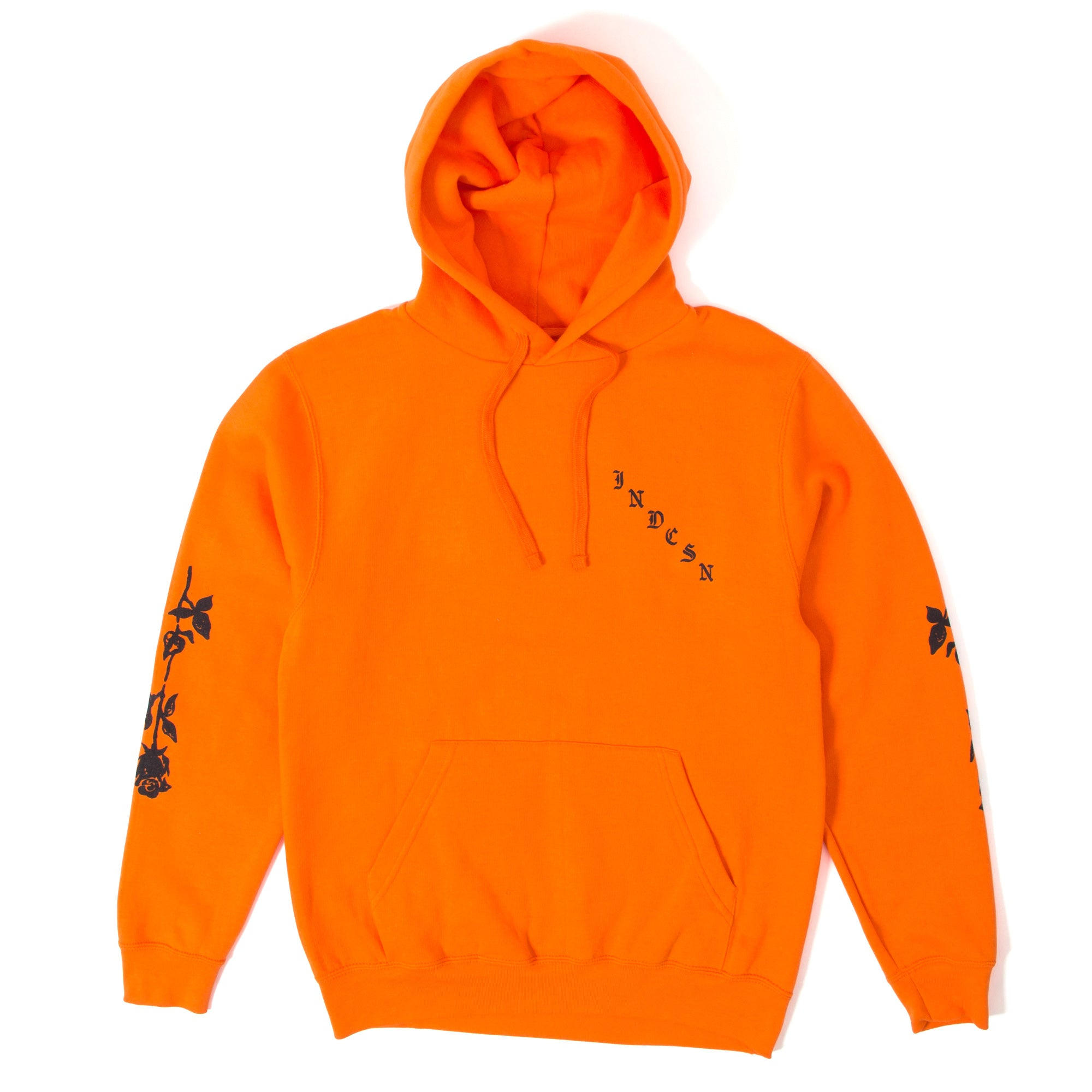 X My Heart Pullover Hoody - Orange