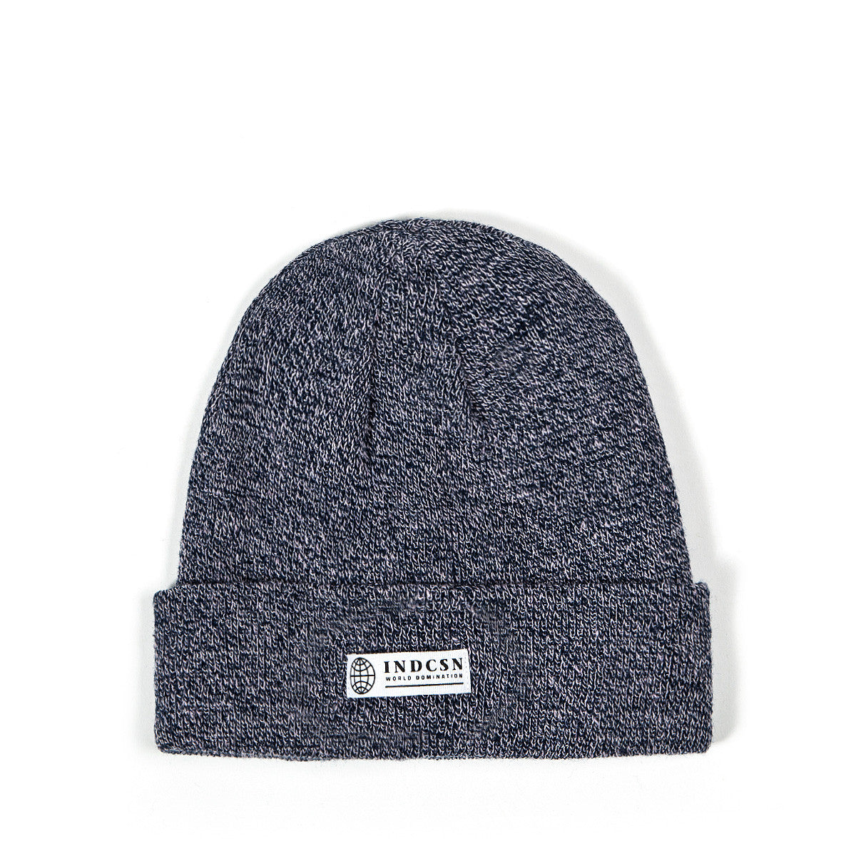 World Domination Beanie - Heather Navy