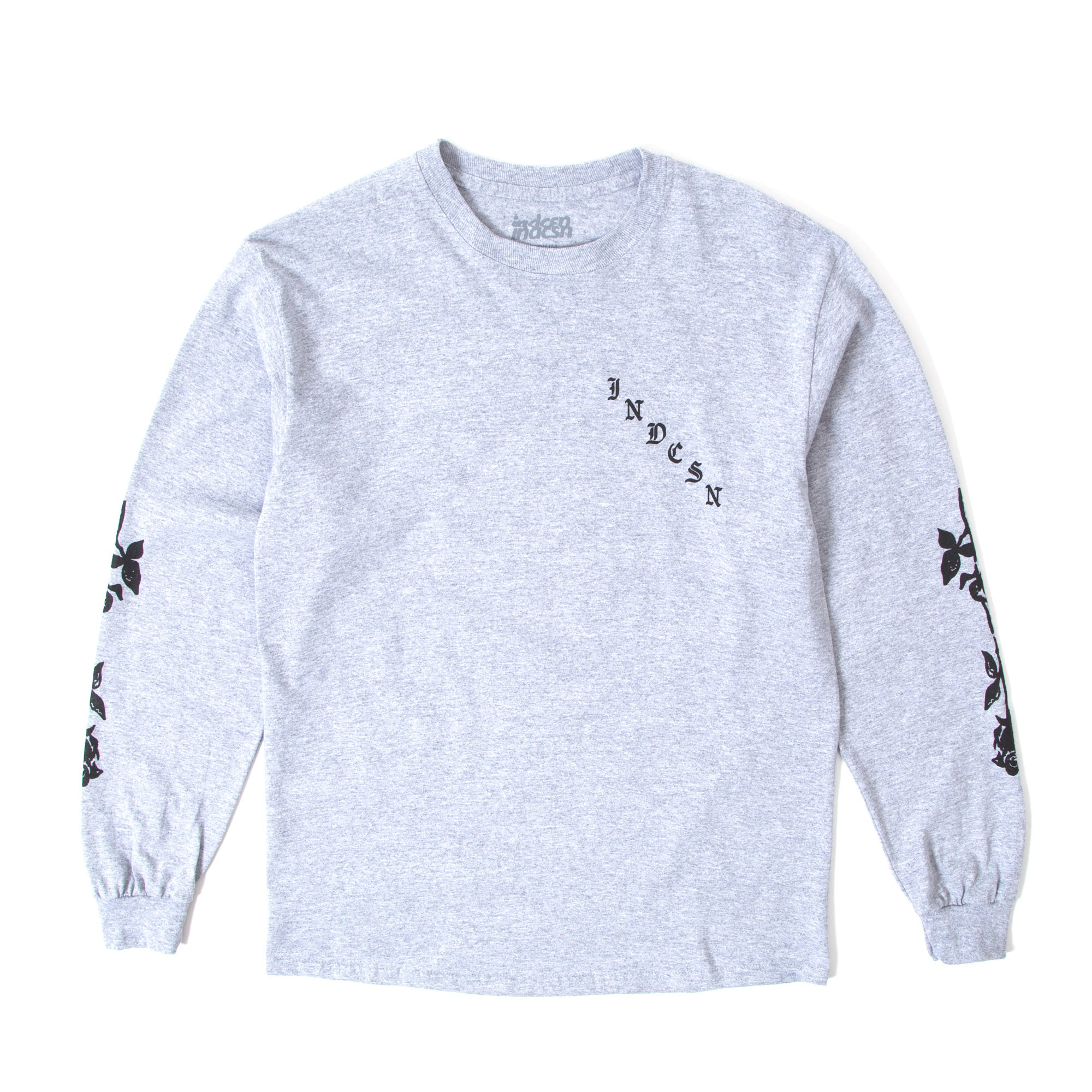 X My Heart LS Tee - Grey