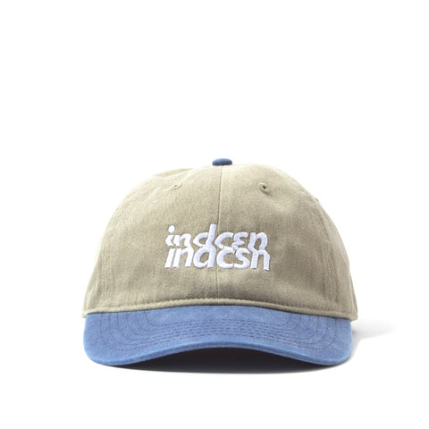 Distort Logo Polo Cap - Khaki Navy