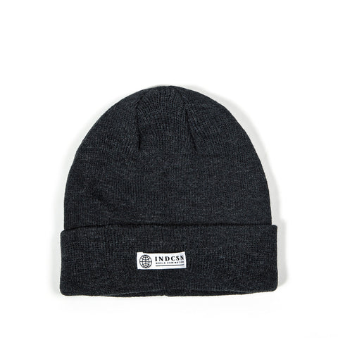 World Domination Beanie - Charcoal Grey