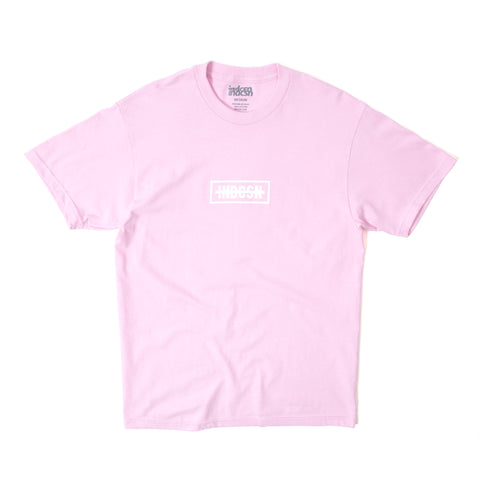 Strikethru T Shirt - Light Pink