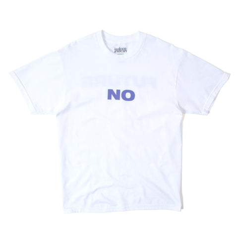 No Future T Shirt - White