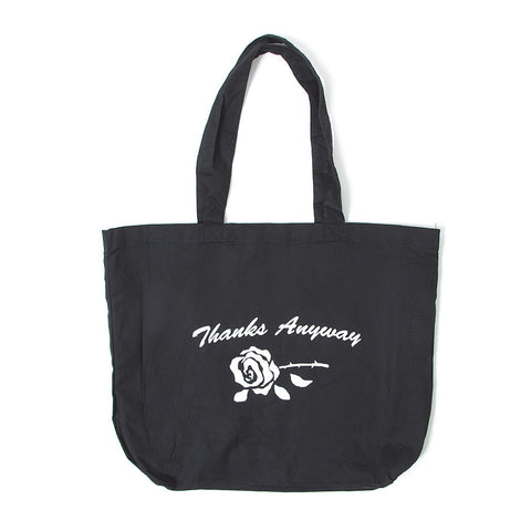 Thanks Anyway Tote Bag - Black