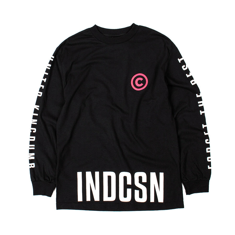 Copyright Long Sleeve T Shirt - Black