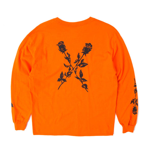 X My Heart LS Tee - Orange