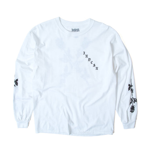 X My Heart LS Tee - White