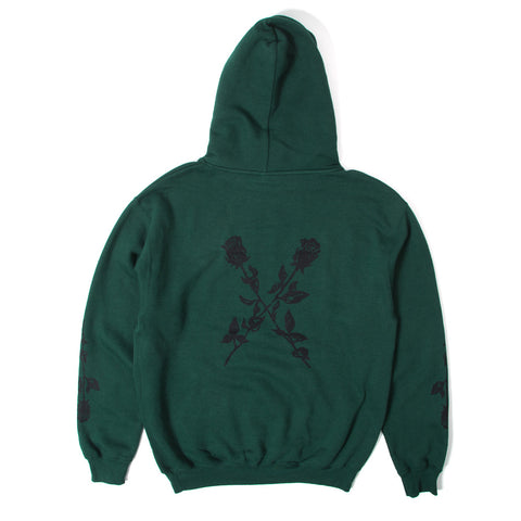 X My Heart Pullover Hoody - Military Green
