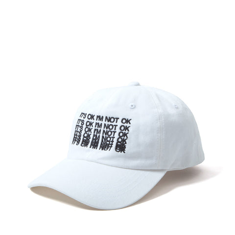 It's OK Dad Cap - White