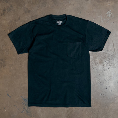 Basic Pocket T Shirt - Black