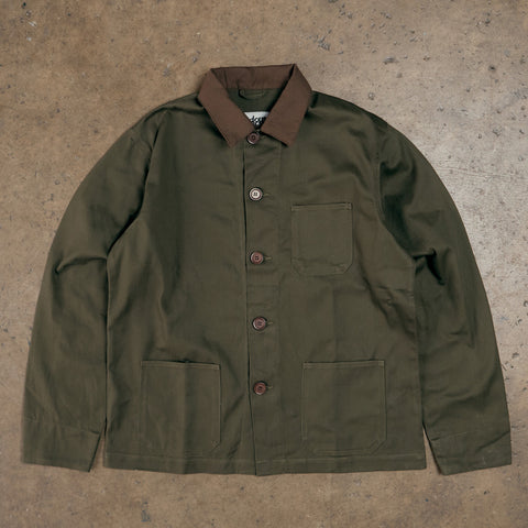 Fuck Work Jacket - Olive Green