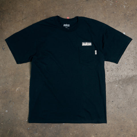 OG 'Reflective' Logo Pocket T Shirt - Black