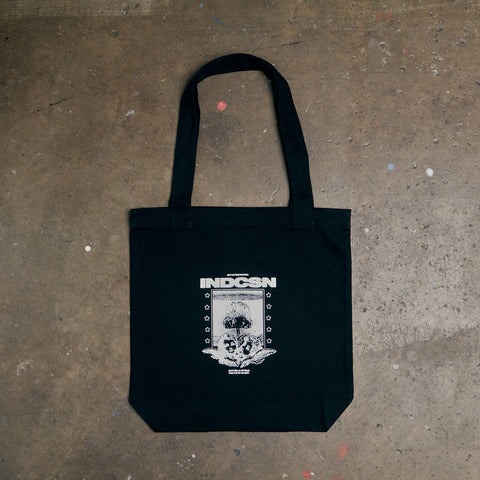 Heartache Tote Bag - Black