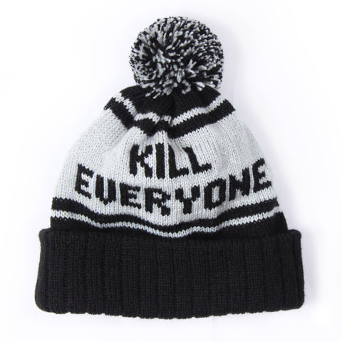 Kill Everyone Beanie - Black