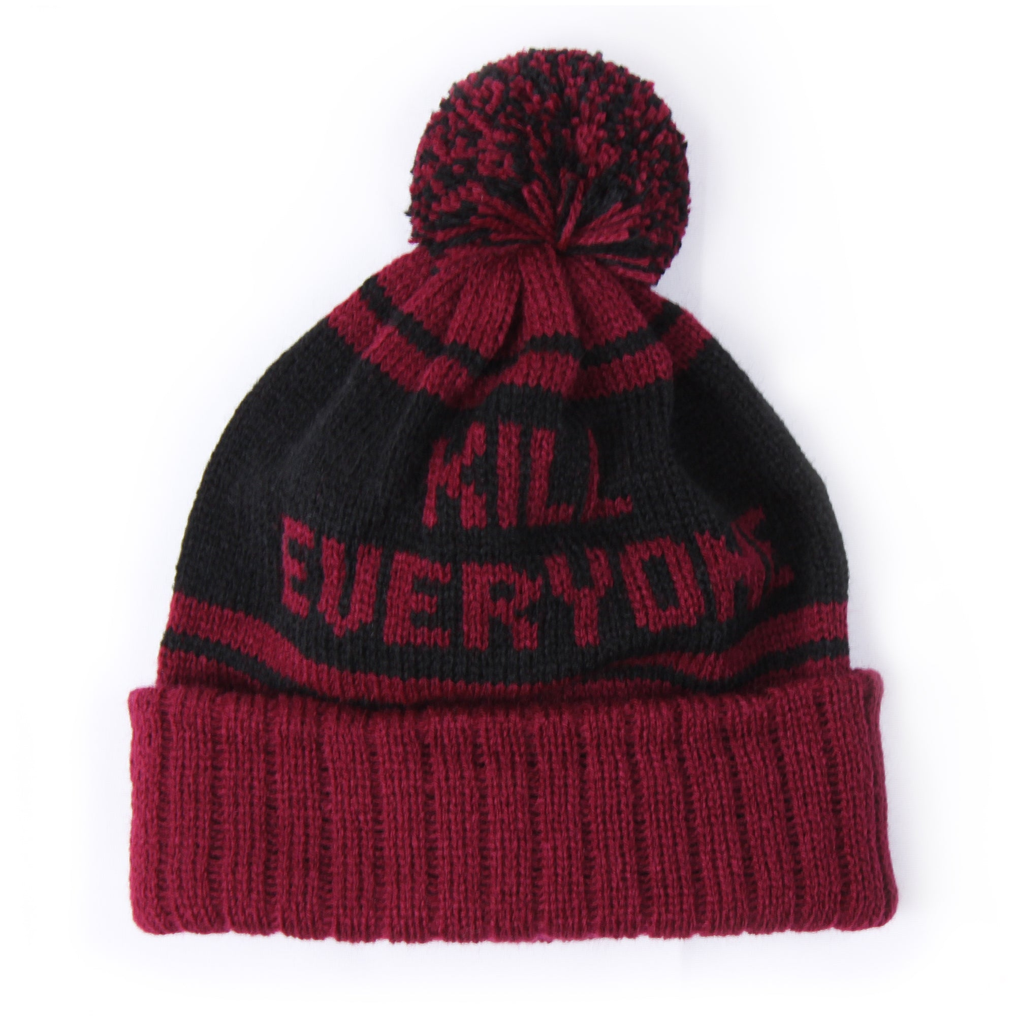 Kill Everyone Beanie - Maroon