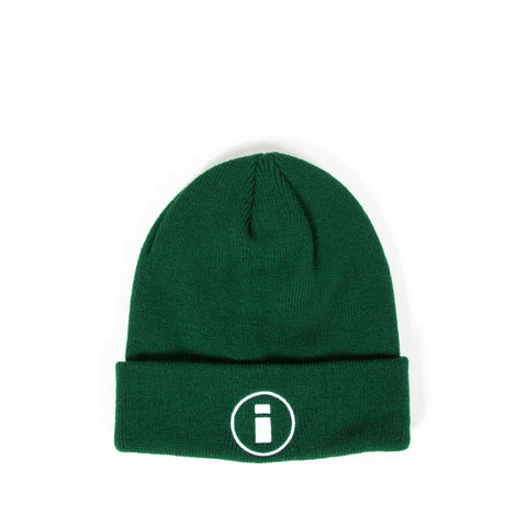 Circle Logo Beanie - Forest Green