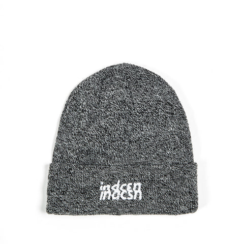 Distort Beanie - Heather Grey