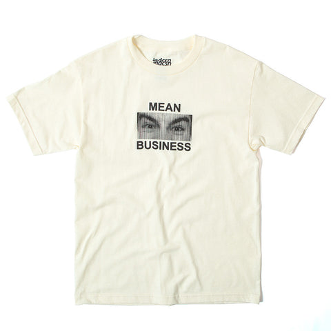 Mean Business T-Shirt - Cream