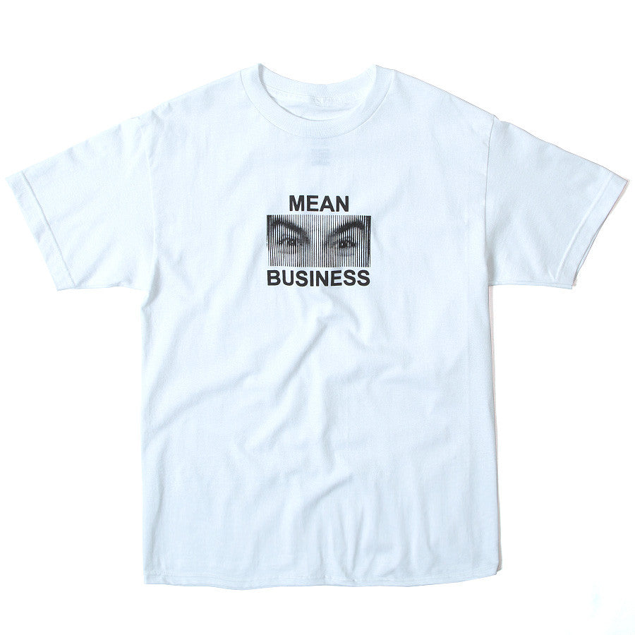 Mean Business T-Shirt - White