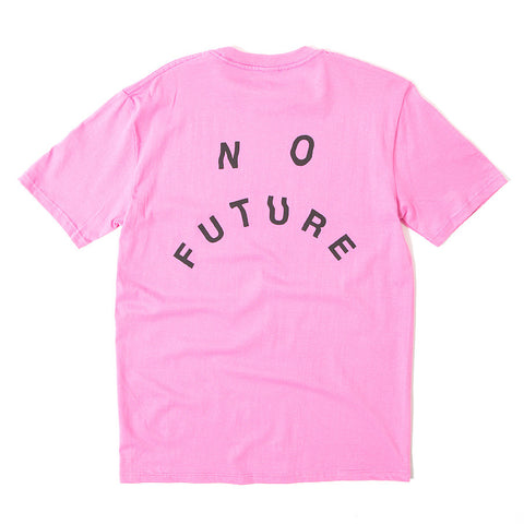 No Future Distort Tee - Coral
