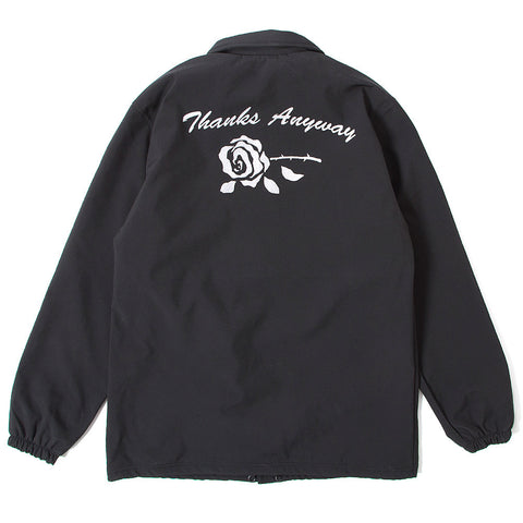 Thanks Anyway Coach Jacket - Black