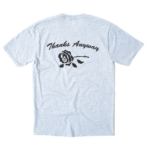 Thanks Anyway Tee - Heather Grey