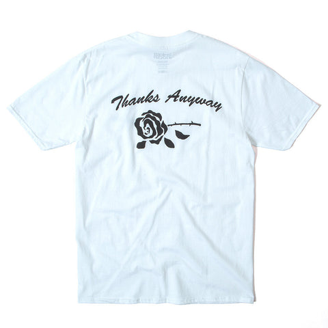 Thanks Anyway Tee - White