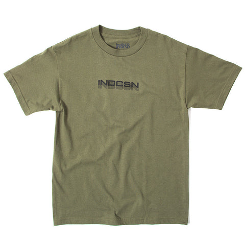 Vanishing Point Tee - Military Green