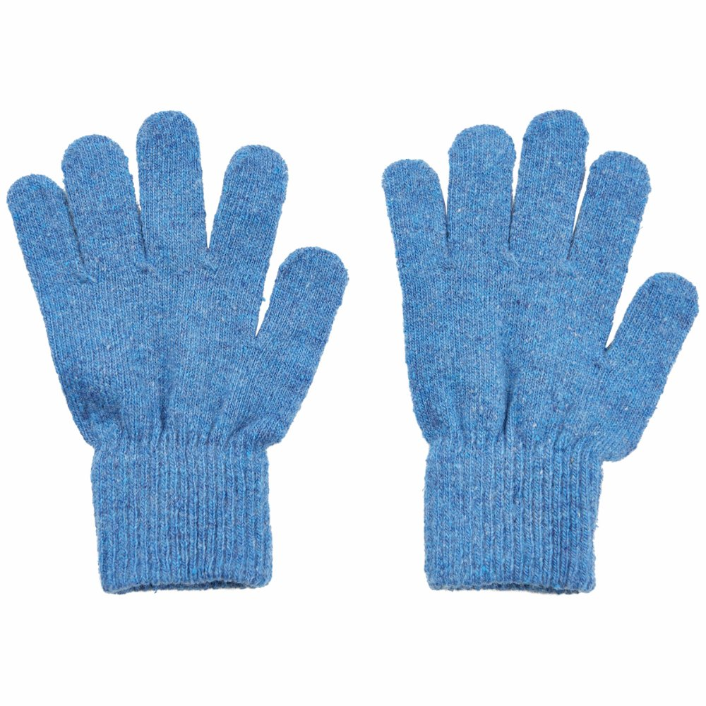 Handschuhe // Basic magic Finger Gloves Hellblau
