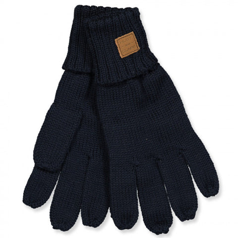 Handschuhe Strick //  Dark Navy