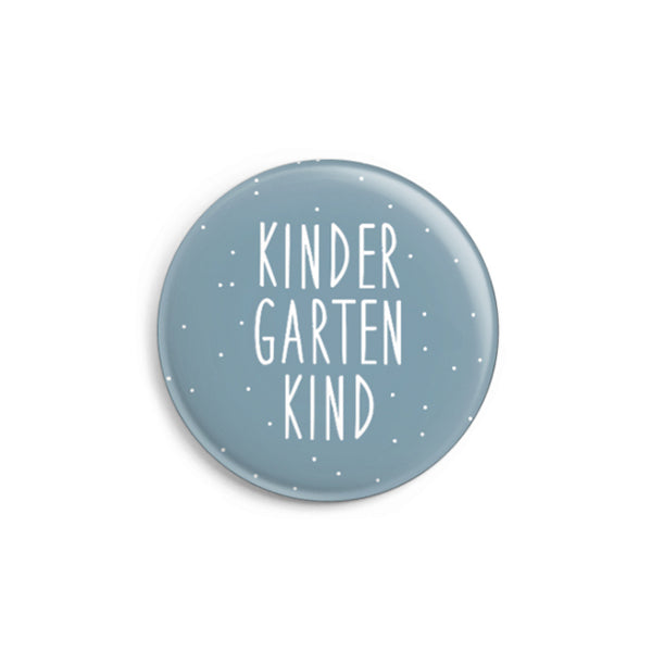 Button // Kindergartenkind blau