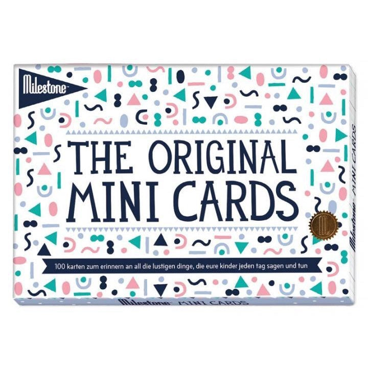 The Original Mini Cards von Milestone™ // deutsch