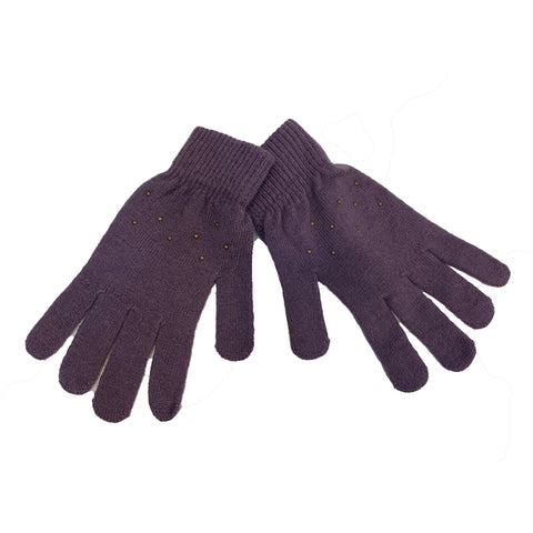 Handschuhe // Basic magic Finger Gloves Violett