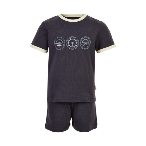 Pyjama-Set kurz navy // Cockpit