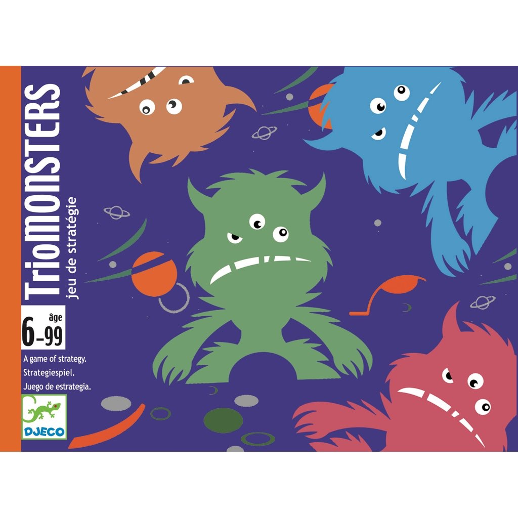 Triomonsters Kartenspiel