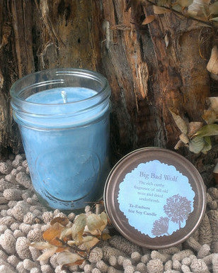 Big Bad Wolf Scented 8oz Soy Candle