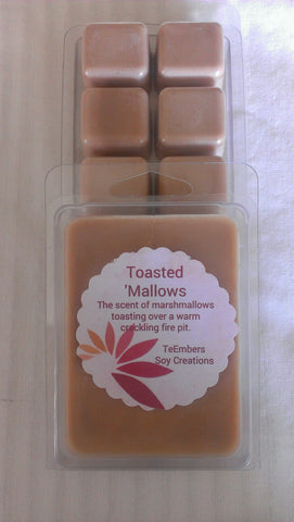 Toasted 'Mallows Scented Soy Melting Tarts