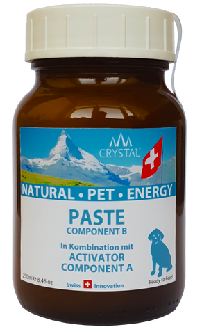 Crystal® Natural Pet Energy Paste für Hunde