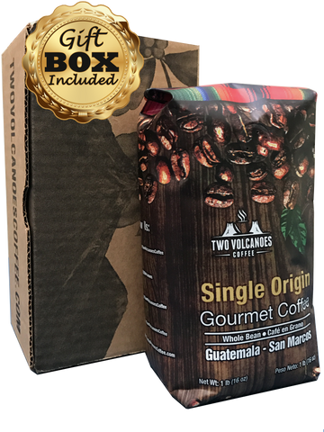Medium Roast, Whole Bean, Single Origin - 1 lb - Premium Package