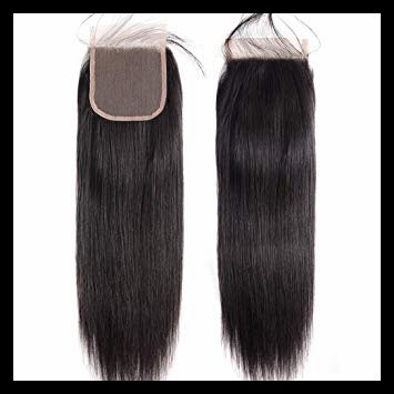 Peruvian Silky Straight Lace Closure