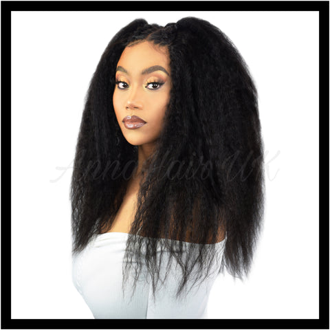 Brazilian Kinky Straight Virgin Human Hair
