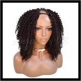 Customised Kinky Curly U-part Clip-in Unit