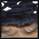 "13"" x 6"" Body Wave Transparent Lace Frontal with Bleached Knots"