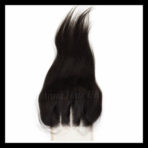 Brazilian Silky Straight Lace Closure - Virgin Human Hair