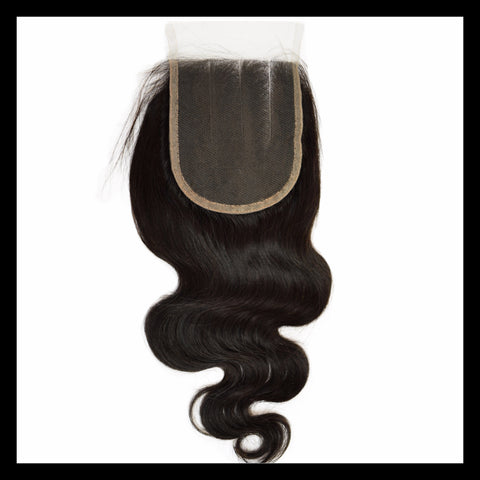 Peruvian Body Wave Lace Closure - Virgin Human Hair
