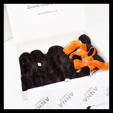 3 x 100g Brazilian Virgin Human Hair Bundle Deal - annahair